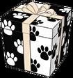 Black and White Cheeky Dog Gift Box