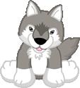 Grey Wolf (plush)