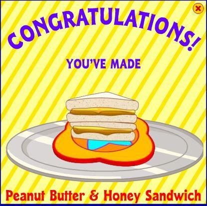 Peanut Butter & Honey Sandwich