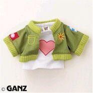 Plush Clothing Cute Cropped Jacket