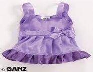 Plush Clothing Lilac Sparkle Party Dress