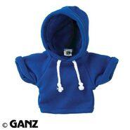 Plush Clothing Blue Hoody