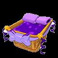 Wicker Basket Bed