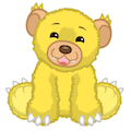 Yellow Fluffy Cub