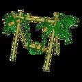 Bamboo chute swing