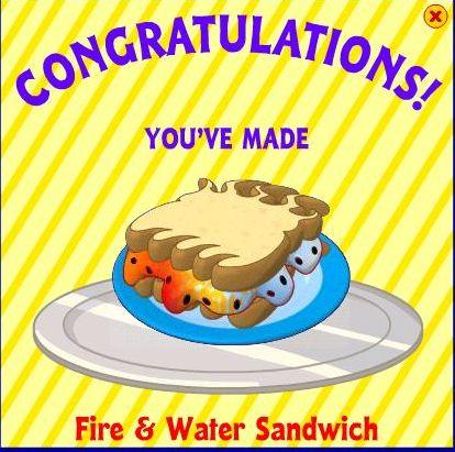 Fire & Water Sandwich