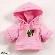 Plush Clothing Pink Webkinz Hoody
