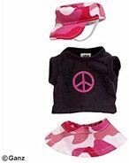 Plush Clothing Pop Rock Princess
