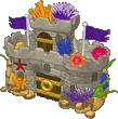 Aquarium Castle Toy Box