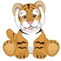 Signature Endangered Bengal Tiger