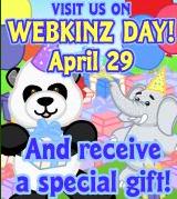 Webkinz Day Ad
