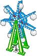 Ferris Wheel Lamp