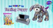 Texting puppy promo