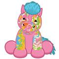 Tie Dyed Pony Virtual
