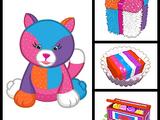 Colorblock Kitty