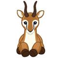 Signature Endangered Dama Gazelle