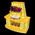 Fictional Fireplace