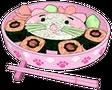Pinkandwhitecatfood