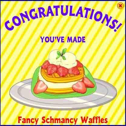 Fancy Schmancy Waffles