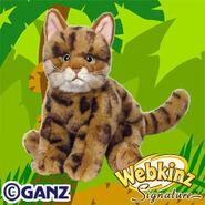 Signature Bengal Cat Plush Pet
