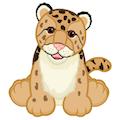 Signature Endangered Clouded Leopard