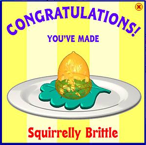 Squirrelly Brittle
