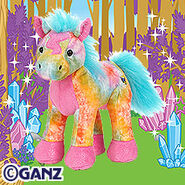 Tie Dyed Pony Plush Pet