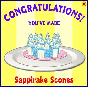 Sappirake Scones