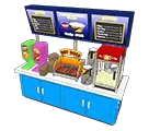 Concession Stand Back Counter