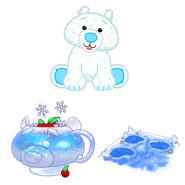 Arctic polar bear online avatar and pet specific items