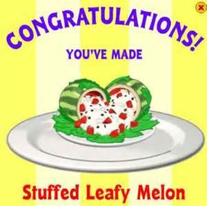 Stuffed Leafy Melon