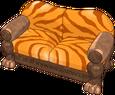 Saberstripe sofa