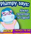 Plumpy Says to Logout
