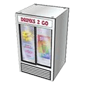 Delicious drinks refreshment cooler