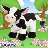 Holstein Cow Plush Pet