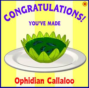 Ophidian Callaloo