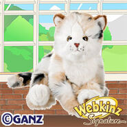 Signature Marble Cat Plush Pet