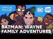 Batman Wayne Family Adventures (Official Trailer) - WEBTOON