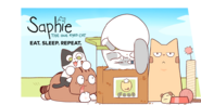 Saphie The One-Eyed Cat Banner