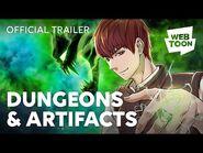 Dungeons & Artifacts (Official Trailer) - WEBTOON