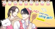 Act Like You Love Me! Banner