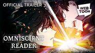 Omniscient Reader (Official Trailer) WEBTOON