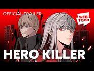Hero Killer (Official Trailer) - WEBTOON