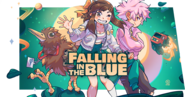 Falling in the Blue Banner