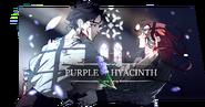 Purple Hyacinth Banner