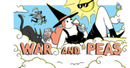 War and Peas Banner