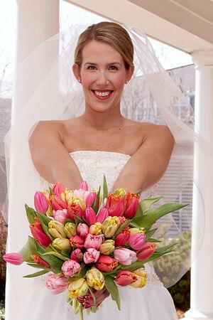 Denver Florists, spring wedding bouquet, colorful.jpg