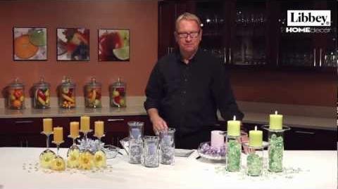 Spring Wedding Decor Ideas - Libbey Glass