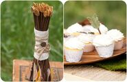 Hunger-games-wedding-decorations-arrow