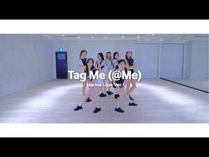 Weeekly(위클리) - Tag Me (@Me) Choreography Video (Marine Look Ver